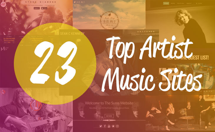 Top 23 Music/Artist Themes