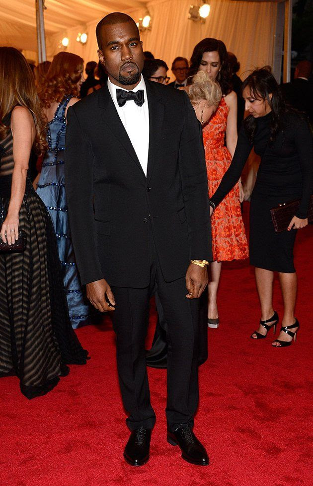 Costume Institute Gala Met Ball - May 7, 2012, Kanye West