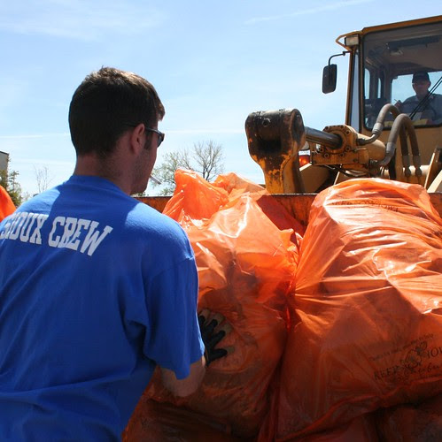 Siouxland Clean-up is in the bag.