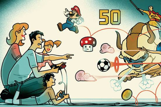 Should Parents Play Videogames With Their Children? - WSJ