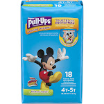 Pull Ups Learning Designs Training Pants, Disney Junior Mickey, Toy Story, 4T-5T - 18 pants