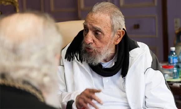 El líder cubano recibió en visita de cortesía al Patriarca Kirill, La Habana, 13 de febrero de 2016. Foto: Alex Castro