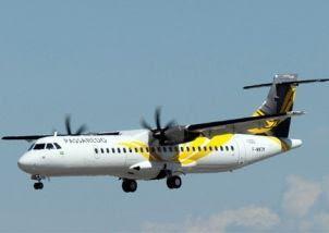 Avião turboélice vai operar na rota