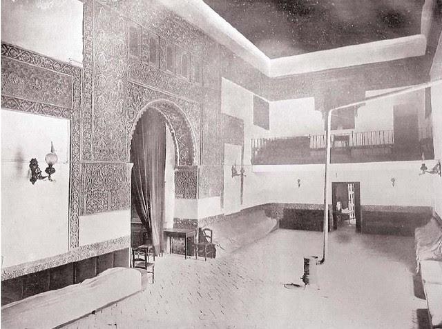 El Salón a principios del s. XX. Al fondo se advierte el coro construido por los jesuitas.