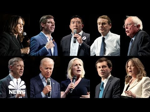 לצפייה חוזרת: ערב 2 של העימות הדמוקרטי הראשון בבחירות 2020
