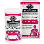 Garden of Life Dr. Formulated Probiotics Once Daily Women's 50 Billion, 30 Vegetarian Capsules