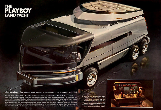 1975 ... land yacht- Playboy