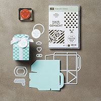 Hausgemachte Leckerbissen Clear-Mount Bundle (German) by Stampin' Up!