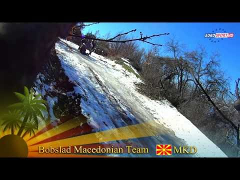 Clip des Tages - Bob Team Macedonia vs Jamaica