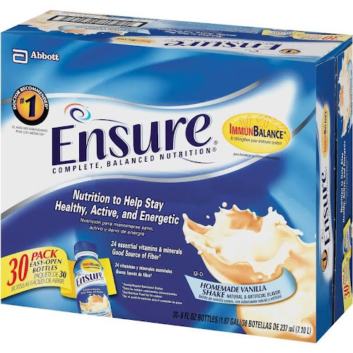 Ensure Original Nutrition Shake, Vanilla - 30 pack, 8 fl oz bottles