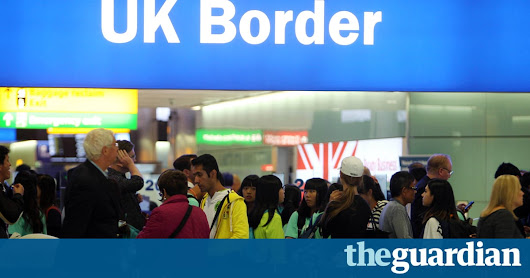 Brexit will cause 'vanishingly small' fall in net migration – report | UK news | The Guardian