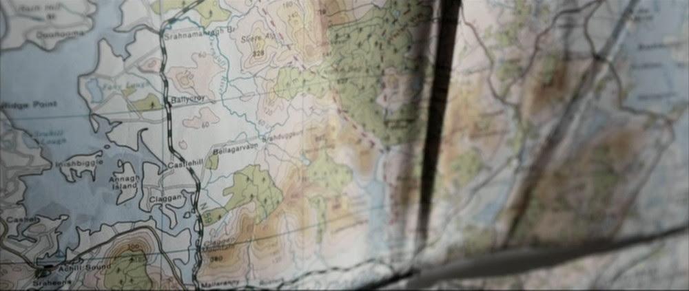 Silence - Film - mapa