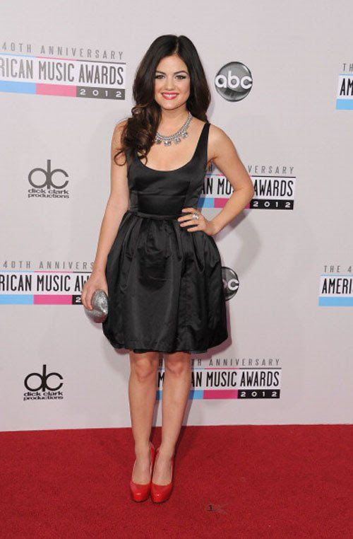 40th American Music Awards - November 18, 2012, Lucy Hale