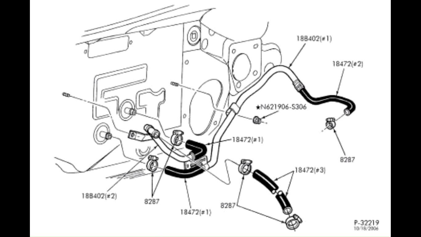 30 2000 Chevy Silverado Heater Hose Diagram