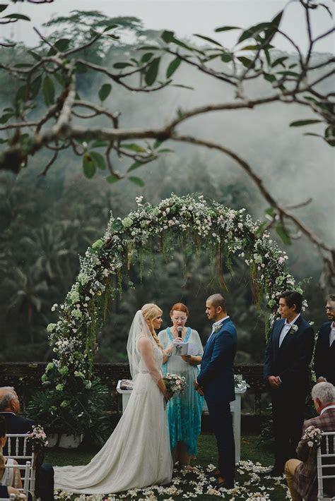 Misty Rainforest Wedding At Puri Wulandari, Ubud