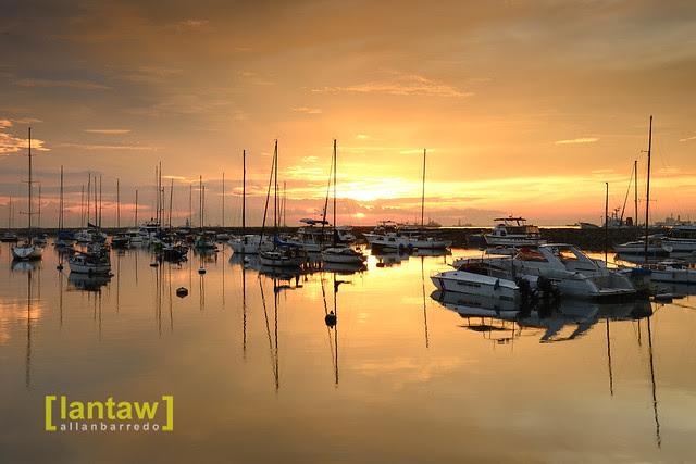 Manila Bay Sunset 9-7-2013