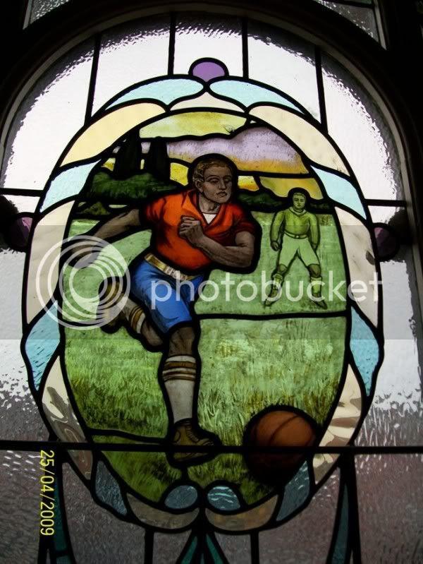 Football, yesterday