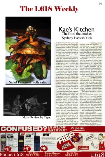 The 1.618 Weekly second edition sample page