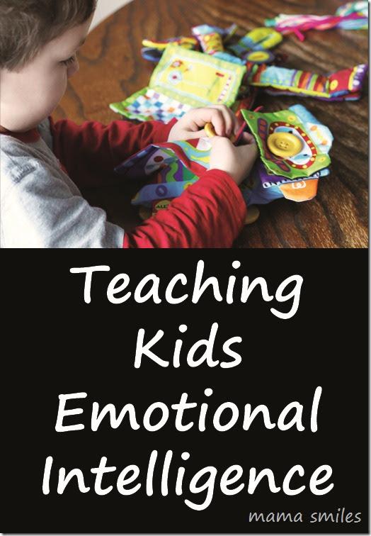 teaching kids emotional intelligence