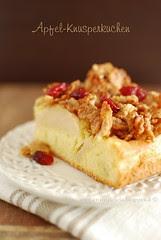 Torta di mele e corn flakes