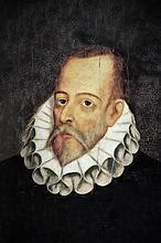 Cervantes recorrió Sevilla en busca de cereal y aceite para la flota española