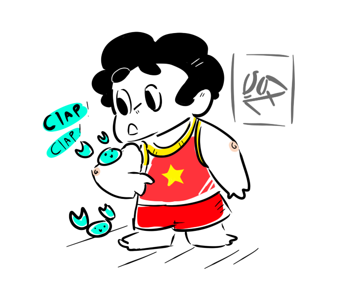 I never uploaded this one, unless i did and then removed him? Anyways, summer steven