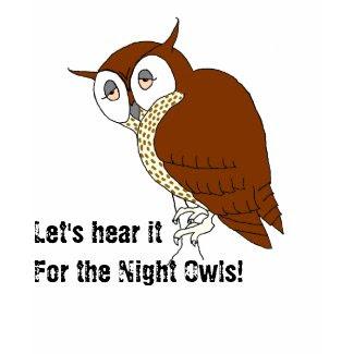 'Night Owl' T-shirt shirt