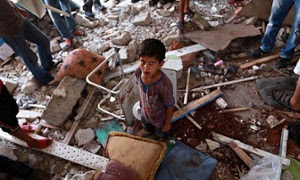 US condemns shelling of UN school in Gaza but restocks Israeli ammunition
