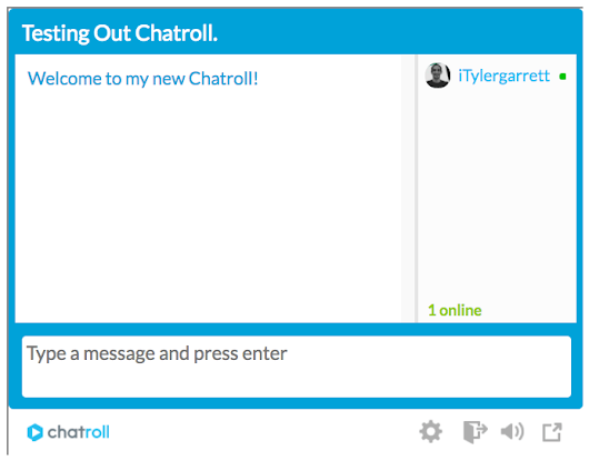 How to Set Up a Free Chatroom on Your Website. – I'm. Just. Tyler – Medium