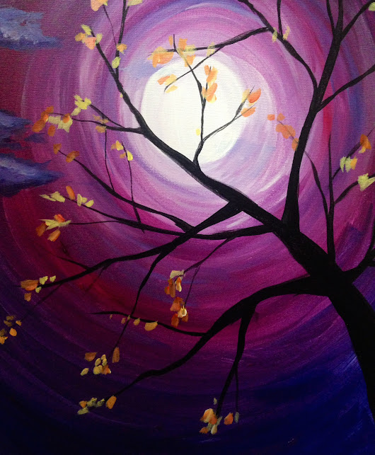 Autumn Evening at The Blue Stone Tavern- West Sayville #TEAMLI - Paint Nite Events