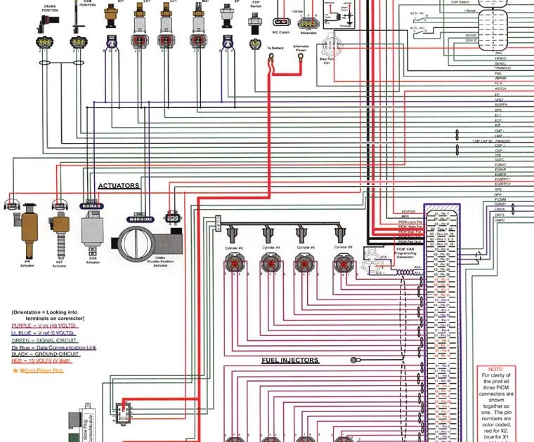 2006 Ford 6 0 Wiring Diagram