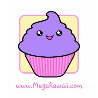 Mega Kawaii Cuppy Cake T-Shirt Promotional shirt