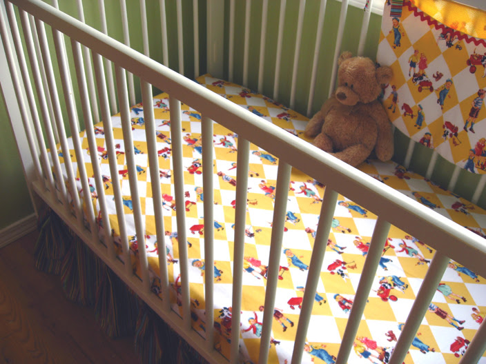 stardustshoes crib sheet tutorial. Black Bedroom Furniture Sets. Home Design Ideas