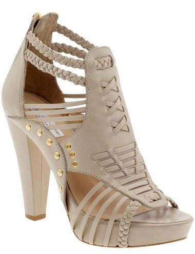 The plait designed womenshoe heels -16