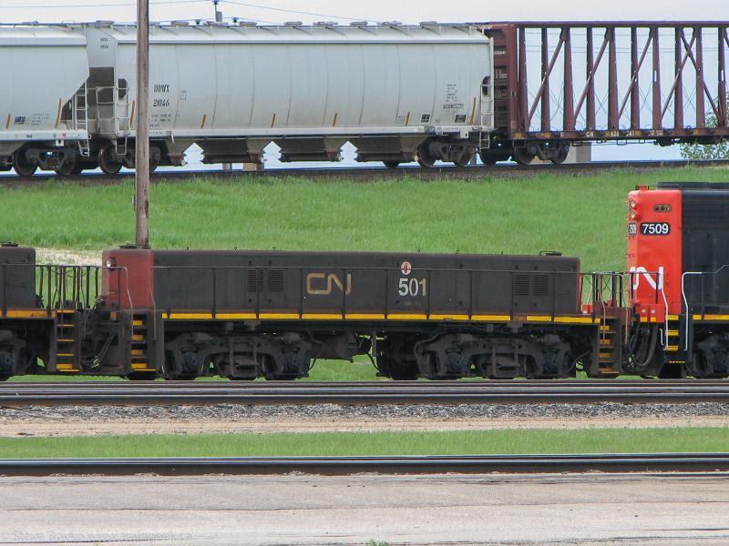 CN slug 501 in Winnipeg