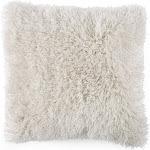 Lavish Home Shag Floor Pillow - Beige