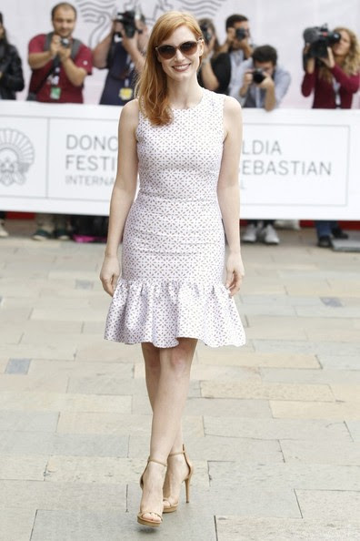 Jessica Chastain - Jessica Chastain Arrives at Her Hotel
