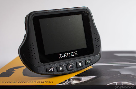 Z-Edge S3 Stealth Review - A dual lens front and rear Dash Cam Review