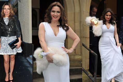 In pictures: Corrie star Debbie Rush renews wedding vows