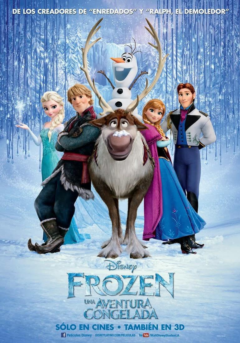 póster de frozen