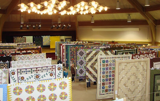 41st Annual Quilt Show at Sauder Village - Seams And Scissors