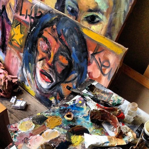 #art #artist #studio