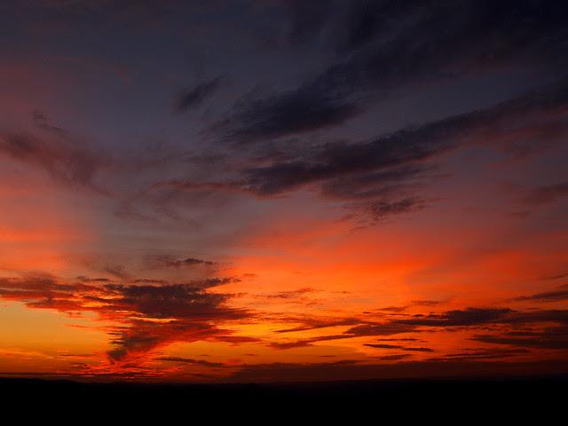 Sunset from Flatside Pinnacle