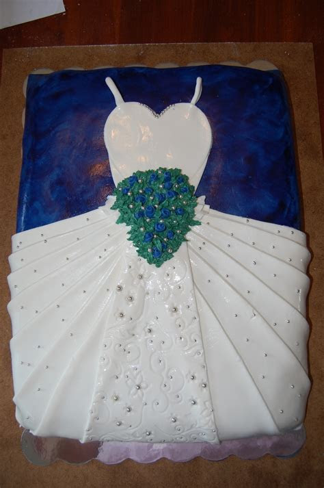 Bridal White Dress With Navy Blue Wedding Color