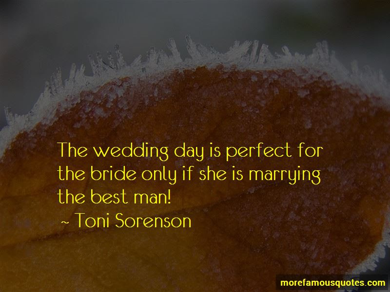 Quotes About The Bride On Her Wedding Day Top 14 The Bride On Her
