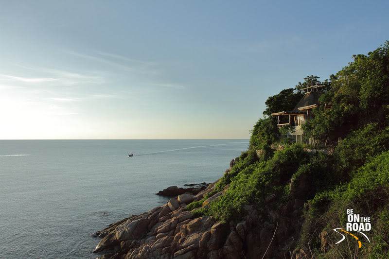 Resort located at cliff edge on Koh Tao island, Thailand