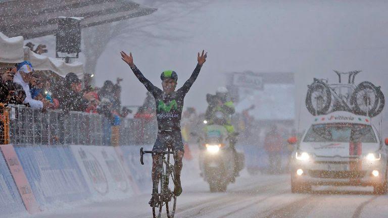 Nairo Quintana gana una prueba durísima