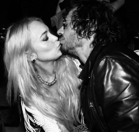 Lindsay Lohan and Olivier Zahm