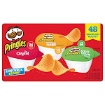 Pringles 3 Flavor Snack Stacks, 48-count