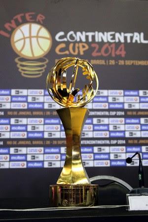 Taça do mundial de Basquete (Foto: Gilvan de Souza)